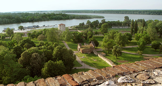Belgrade Fortress - Lower Town